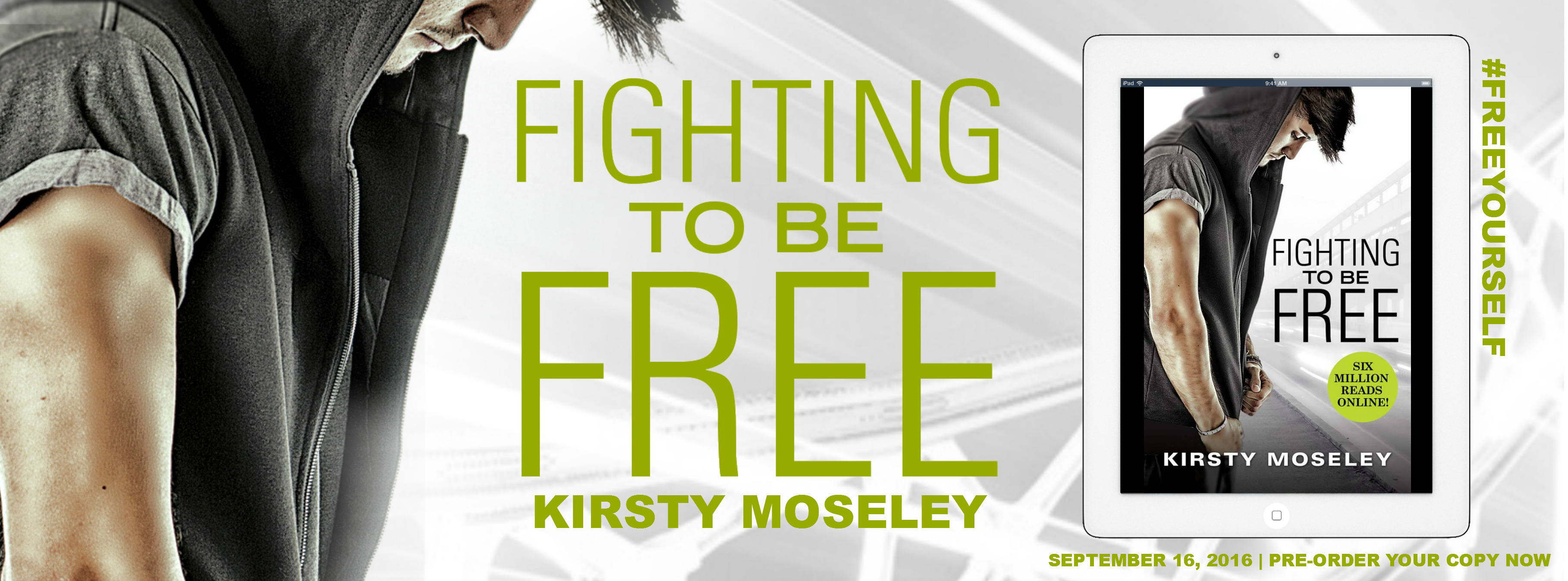 Cover Reveal  Fighting To Be Free by Kirsty Moseley
